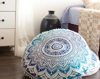 Poufs Floor Cushions Pouf Ottoman Meditation Cushion Pouffe