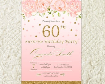 60th birthday invitations for her yeniscale 60th filmwisefo