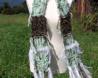 scarf for women, shabby chic scarf, soft scarf, womens fashion scarf, loose knit scarf, Womens gifts, Winter Scarf, winter accessories