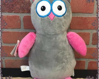 Owl with personalized stomach
