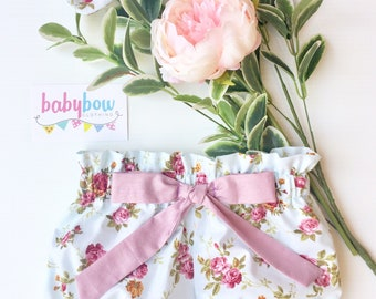 Baby girl Ella bloomers (different fabrics)