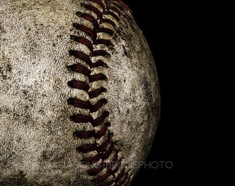 Baseball Photography, Sports Photo, Wall Art, Office Decor, Home Decor, Color Photo