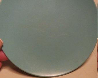 Vintage Blue Texas Ware Melamine/Melmac Saucer