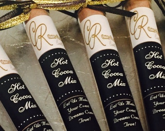 Corporate gifts, Hot Chocolate Test Tubes, Corporate Event Gifts, Corporate Logo Gift, Employee Gift, Corporate Favors