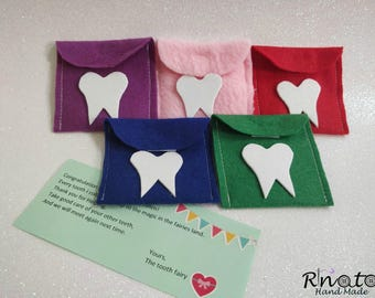 Tooth Wallet/ tooth fairy gift/ kids gift/ kids gift personalized/ kids gift ideas/