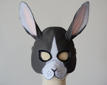 Rabbit Mask PDF Pattern