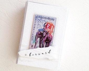 Boîtes de mariage, des timbres-poste vintage, en vrac pour boîtes à mariage, style rustique mariage, idées de mariage vintage, rustiques marque-places