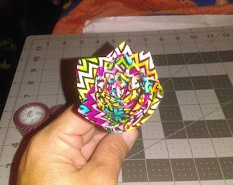 Duck tape flower