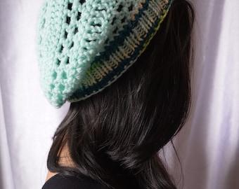 Mermaid Vibes | Sea Foam Slouch Hat