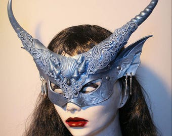 Sea Witch Mermaid mask