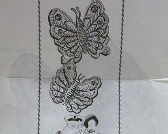 Vintage Crochet Butterfly PDF Pattern -  Design 7247