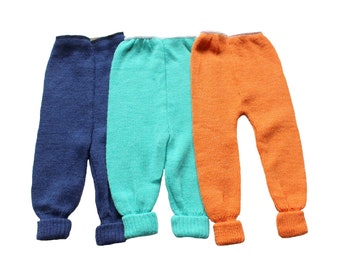 FRENCH VINTAGE 70's / baby / winter pants / colour to choose / new old stock / size 9 months