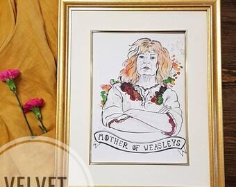 Mother of Weasleys print