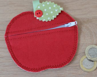 Apple Coin Purse