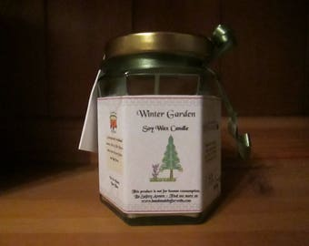Winter Garden Scented Soy Wax Candle 300g