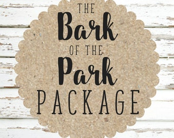Bark of the Park Harness, Collar, & Leash Package