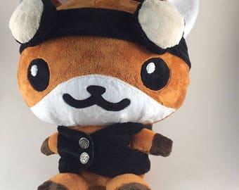 Plush Steampunk Fox