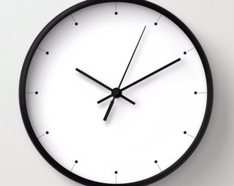 Minimalist clock Etsy