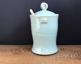 Honey Jar cool blue