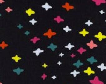 Its A Plus in Black -Dress Shop by Cotton + Steel- Cotton Spandex Knit