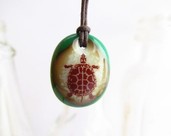 Turtle Necklace / sea turtle necklace / pet turtle gift / tortoise jewelry / teen gift for her / cute animal pendant necklace turtle