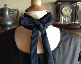 Mens Civil War String Tie Civil War, Victorian, Reenactment Tie