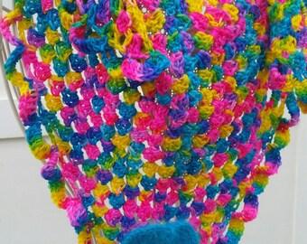 Handmade scarf/shawl, shawlette ERAKIS.