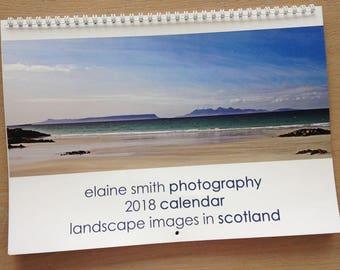 2018 Landscape Calendar - Landscape Images  in Scotland