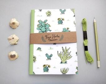 Cactus Sketchbook / cuaderno / diario / diario / A5
