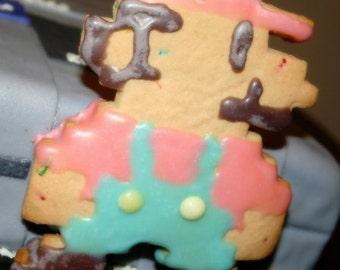 8 bit mario cookie cutter
