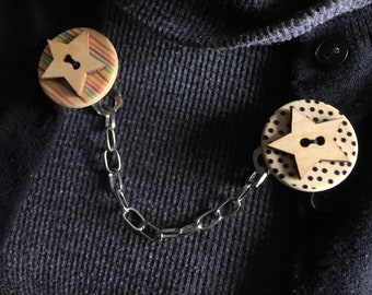 star sweater clip