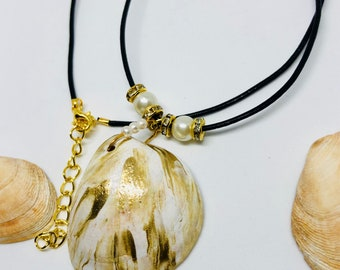 Unique Summer Top Seashells Jewelry Necklace
