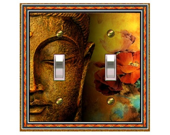 choose sizes / prices from drop down box1457x Huge Buddha - mrs butler switch plate covers - choose sizes / prices from drop down box
