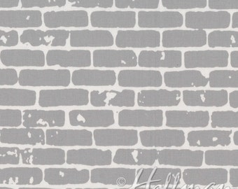 Grafic - Brick Wall Gray - Latifah Saafir - Hoffman Fabrics (P4274-48)