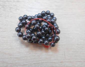 hematite wire grey 8 mm