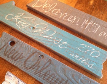 Directional Signs, Rustic Directional Signs, Beach Directional Signs, Outdoor Signs, Wedding Directional Signs, Beach Wedding, Outdoor Bar