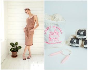Loopy Mango DIY Kit - Summer Dress - Big Cotton