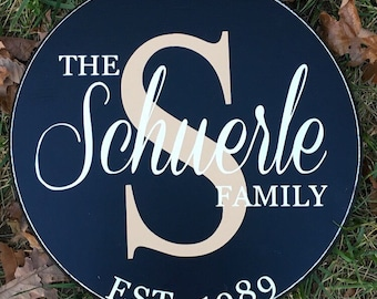 Family established sign, wedding gift, anniversary gift, housewarming gift, gifts for couples, Mother's Day, gifts for mom, valentines day