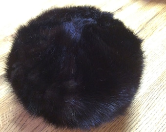 Item # 10: Vintage Mink Pill Box Hat Pillow