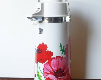 Air Pot  in Red Floral