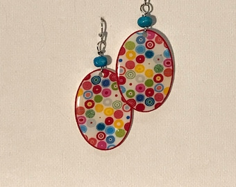 Colorful Dots Earrings