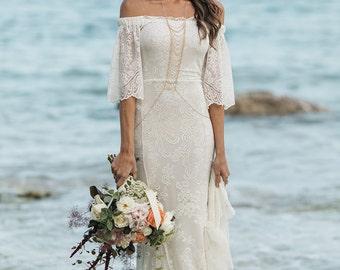 You've Got the Love lace wedding dress