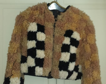 Custom yarn jacket - Wearable Art - 100 (Northampton. MA)