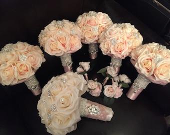 Flower bridal package