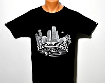 Tel Aviv City T-shirts High Quality 100% Cotton