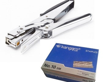 Stapler High Quality Heavy Duty Kangaro Stapler with Free Box of 5000 Staples