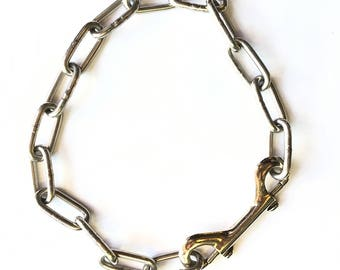 Industrial Chain Necklace - Unisex - 2-Way Clip