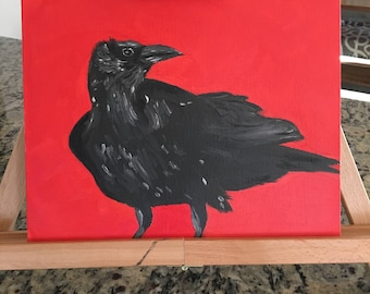 "Oil Painting - *Unframed Original* - ""Crow"""