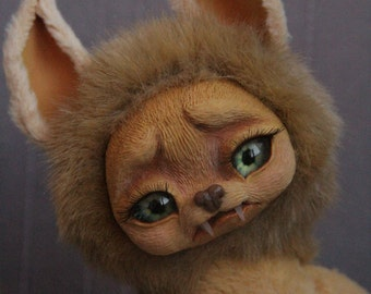 Fantasy Animal Toy Fantasy Creature Sabretooth Mouse