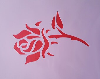 Stencil rose plastic Malschablone Efco hobby decoration stencils Painting Photo Mandala stencil Prosperity Restaurieung